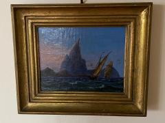 Petite Danish Seascape - 1891432