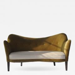 Petite Sculptural Danish Sofa - 557076