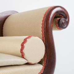Philadelphia Neo Classic upholstered mahogany sofa - 1713365