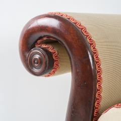 Philadelphia Neo Classic upholstered mahogany sofa - 1713366