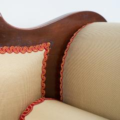 Philadelphia Neo Classic upholstered mahogany sofa - 1713371