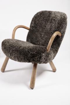 Philip Arctander Philip Arctander Attributed Clam Chairs Sweden 1950s  - 1613882
