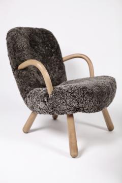 Philip Arctander Philip Arctander Attributed Clam Chairs Sweden 1950s  - 1613883