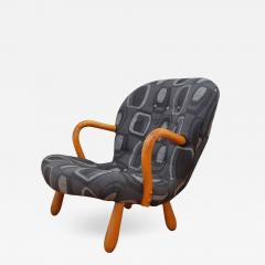 Philip Arctander The Clam Chair Rocking Chair by Philip Arctander formerly Martin Olsen  - 1022491