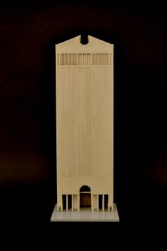 Philip Cortelyou Johnson Architectural Model of AT T Corporate Headquarters Building - 192182