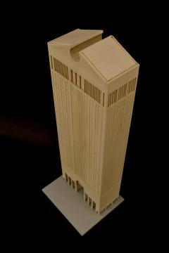 Philip Cortelyou Johnson Architectural Model of AT T Corporate Headquarters Building - 192183