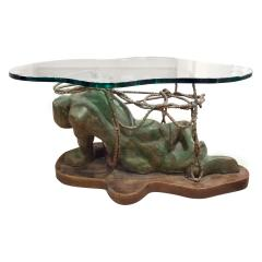 Philip Kelvin LaVerne Philip Kelvin LaVerne Persephone Enslaved Sculpture Coffee Table 1970s - 401011