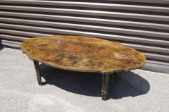 Philip and Kelvin LaVerne Bronze Coffee Table with Biblical Scenes by Philip and Kelvin LaVerne - 1083447