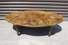 Philip and Kelvin LaVerne Bronze Coffee Table with Biblical Scenes by Philip and Kelvin LaVerne - 1083449