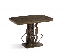 Philip and Kelvin LaVerne Eternal Guardians Unique Table by Philip Kelvin LaVerne - 1160653