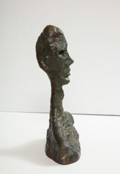 Philip and Kelvin LaVerne Giacomettis Soul Bronze Bust by Philip Kelvin Laverne - 1045338