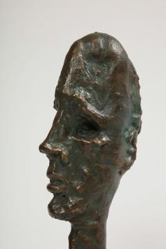Philip and Kelvin LaVerne Giacomettis Soul Bronze Bust by Philip Kelvin Laverne - 1045339