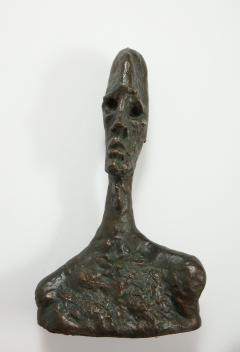 Philip and Kelvin LaVerne Giacomettis Soul Bronze Bust by Philip Kelvin Laverne - 1045340