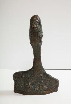 Philip and Kelvin LaVerne Giacomettis Soul Bronze Bust by Philip Kelvin Laverne - 1045341