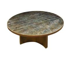 Philip and Kelvin LaVerne Philip Kelvin LaVerne Rare Eternal Forest Coffee Table 1960s signed  - 1147032