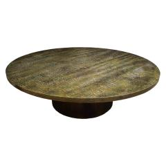 Philip and Kelvin LaVerne Philip Kelvin LaVerne Rare Large Eternal Forest Coffee Table 1960s Signed  - 1250154