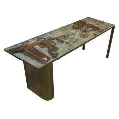 Philip and Kelvin LaVerne Philip Kelvin LaVerne Rare Surrealist Coffee Table 1960s - 887234