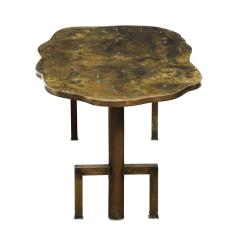 Philip and Kelvin LaVerne Philip Kelvin LaVerne Rare Turtle Coffee Table 1966 Signed  - 2069055