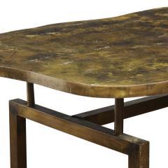 Philip and Kelvin LaVerne Philip Kelvin LaVerne Rare Turtle Coffee Table 1966 Signed  - 2069057