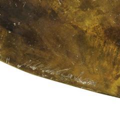 Philip and Kelvin LaVerne Philip Kelvin LaVerne Rare Turtle Coffee Table 1966 Signed  - 2069058