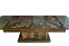 Philip and Kelvin LaVerne Philip Kelvin LaVerne Rare and Important Extension Dining Table 1960s Signed  - 1413033