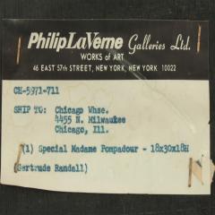 Philip and Kelvin LaVerne Philip Kelvin LaVerne Special Madame Pompadour Coffee Table 1960s Signed  - 1918894