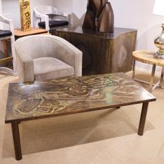 Philip and Kelvin LaVerne Philip Kelvin LaVerne Unique Abstract Design Coffee Table 1966 Signed  - 2067767