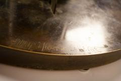 Philip and Kelvin LaVerne Philip Kelvin Laverne Etruscan Game Table in Acid Etched Bronze 1960s - 1553482