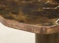Philip and Kelvin LaVerne Rare Pair of Kissing Tables by Philip Kelvin LaVerne - 1462774