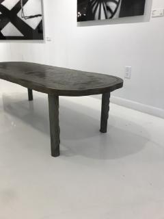 Philip and Kelvin LaVerne Rare Romanesque coffee table by Philip and Kelvin Laverne - 955334