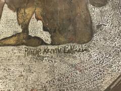 Philip and Kelvin LaVerne Rare Romanesque coffee table by Philip and Kelvin Laverne - 955335