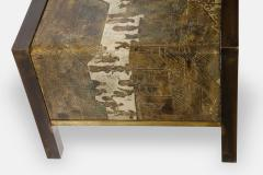 Philip and Kelvin LaVerne Spring Festival Waterfall Coffee Table in Bronze by Philip Kelvin LaVerne - 2064279