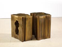 Philip and Kelvin LaVerne Together Unique 2 Piece Table by Philip Kelvin LaVerne - 1878226