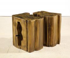 Philip and Kelvin LaVerne Together Unique 2 Piece Table by Philip Kelvin LaVerne - 1878231