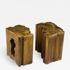 Philip and Kelvin LaVerne Together Unique 2 Piece Table by Philip Kelvin LaVerne - 1879822