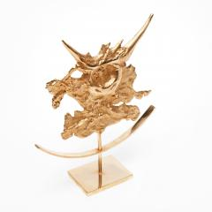 Philippe Cheverny Taurus Zodiac Sculpture Signed - 612047