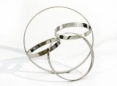 Philippe Pallafray Four Ring Polished Stainless Steel Temps Zero - 1059620