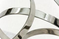 Philippe Pallafray Four Ring Polished Stainless Steel Temps Zero - 1059622