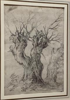Philips Wouwerman Pair of Tree Studies - 1002206