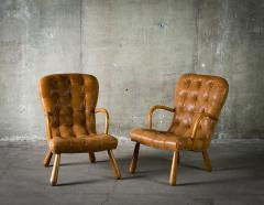 Phillip Arctander Pair of Armchairs in the Style of Phillip Arctander - 379071