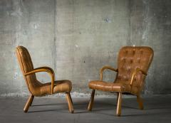 Phillip Arctander Pair of Armchairs in the Style of Phillip Arctander - 379072