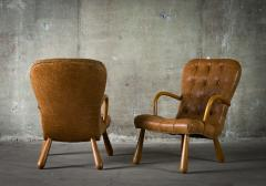Phillip Arctander Pair of Armchairs in the Style of Phillip Arctander - 379073