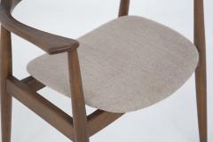Phillip Lloyd Powell Mid Century American Armchair in Wood and Fabric attr to Phillip Lloyd Powell - 2121871