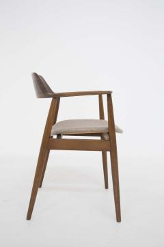 Phillip Lloyd Powell Mid Century American Armchair in Wood and Fabric attr to Phillip Lloyd Powell - 2121872