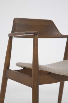 Phillip Lloyd Powell Mid Century American Armchair in Wood and Fabric attr to Phillip Lloyd Powell - 2121873