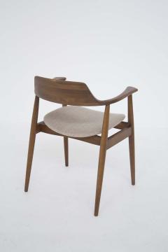 Phillip Lloyd Powell Mid Century American Armchair in Wood and Fabric attr to Phillip Lloyd Powell - 2121875