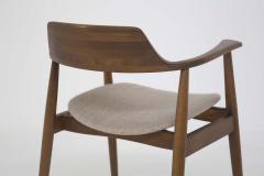 Phillip Lloyd Powell Mid Century American Armchair in Wood and Fabric attr to Phillip Lloyd Powell - 2121877