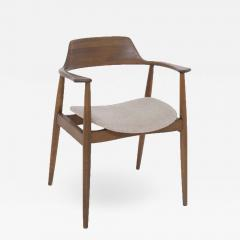 Phillip Lloyd Powell Mid Century American Armchair in Wood and Fabric attr to Phillip Lloyd Powell - 2122668