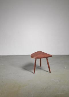 Phillip Lloyd Powell Phillip Lloyd Powell Studio Craft Walnut Side Table USA 1960s - 1112769