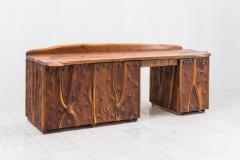 Phillip Lloyd Powell Phillip Lloyd Powell Unique Carved Desk USA - 1928945